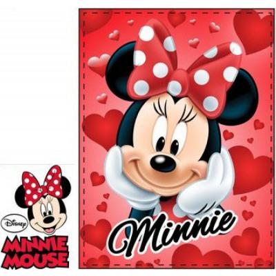 Coperta Disney Minnie Rossa 90x120 cm
