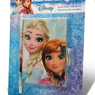 Frozen diario con lucchetto e penna il regno di ghiaccio