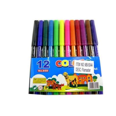 Set pennarelli con 12 colori