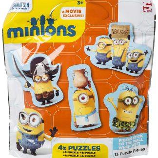 minnions Puzzle morbido 12 pz
