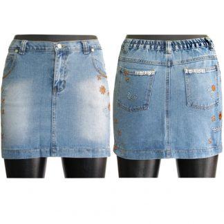 Gonna jeans alla moda bambina