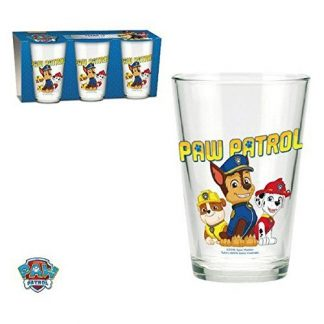 Bicchieri vetro Paw Patrol 7cl x3