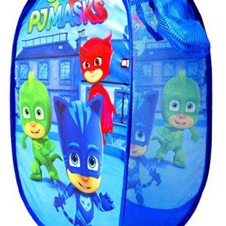 Cesta porta giochi Pj Mask blu per bambini LQ1041