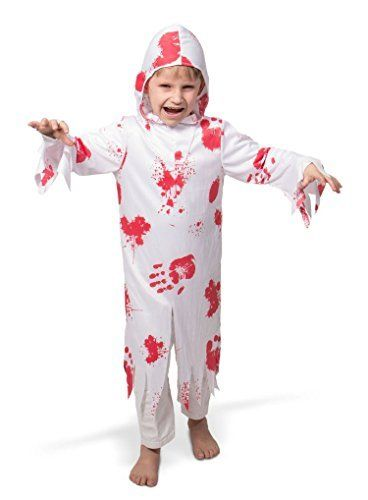 Costume fantasma con sangue Hallowen