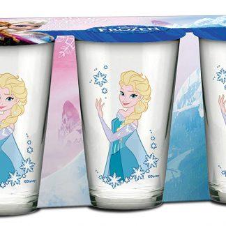 Frozen Bicchieri in vetro set 3 pezzi