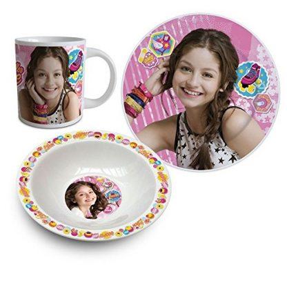 Soy Luna Set 3 Pezzi colazione bambine ragazze
