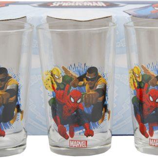 Spider-Man Set Bicchieri 3 pz in vetro