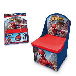 Spiderman poltroncina con vano portaoggetti