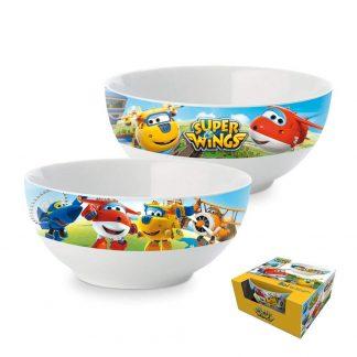 Tazza colazione Super Wings per bambini