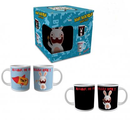 tazza in ceramica the lapins cretins