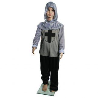 Costume cavaliere bambino carnevale
