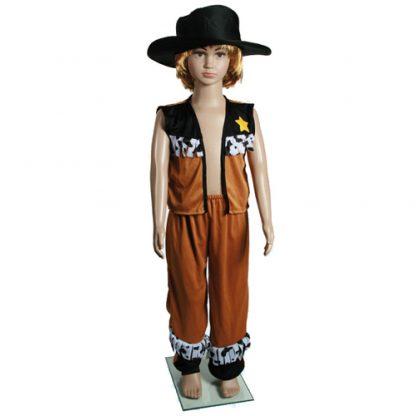 Costume cowboy bambino