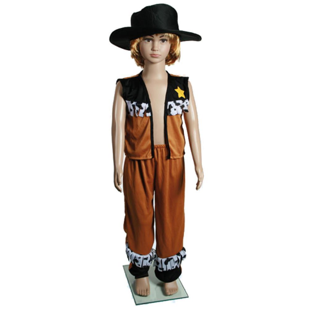 estetica di lusso autentico Los Angeles Costume cowboy bambino carnevale