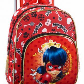 Ladybug zaino scuola con trolley bambini