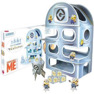 Base segreta Minions gioco bambini