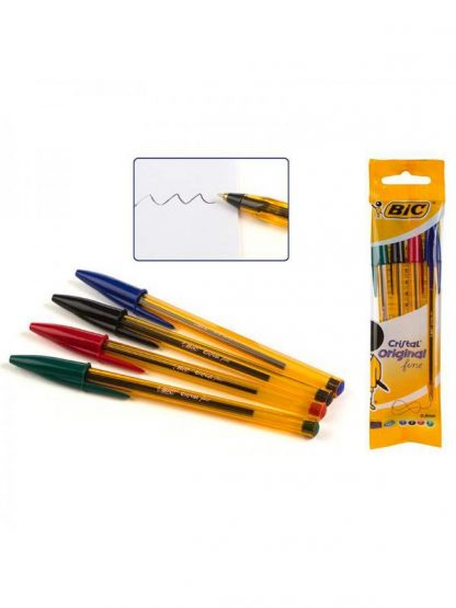 Bic 4 Penne 4 colori