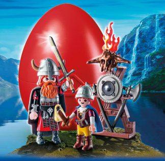 Playmobil Uovo con personaggi Vikinghi